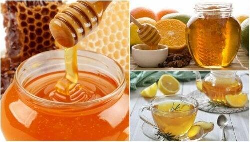 5 preparater med honning for å forbedre helsa di