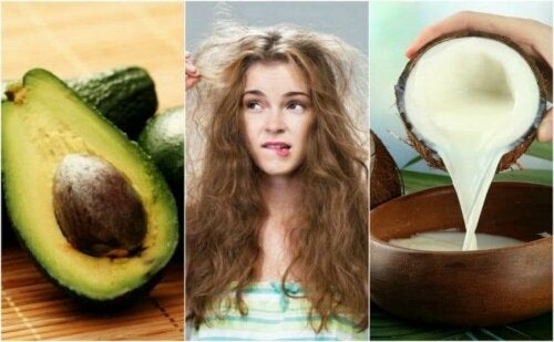 5 naturlige måter å temme krusete hår på