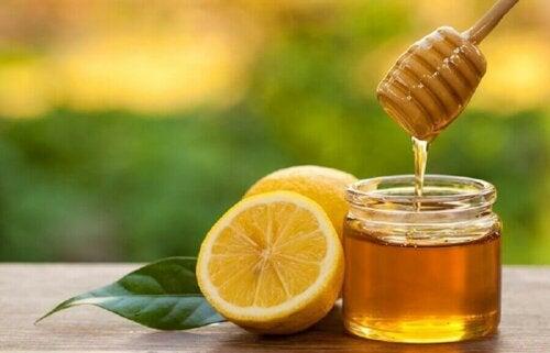 Honning og sitron