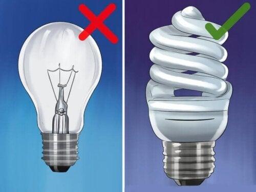 7 tips for å bruke mindre på strøm
