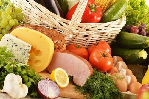 Et sunt kosthold er viktig for å holde kroppen i god form
