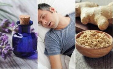 Slik kan du bekjempe søvnapné med 5 naturlige midler