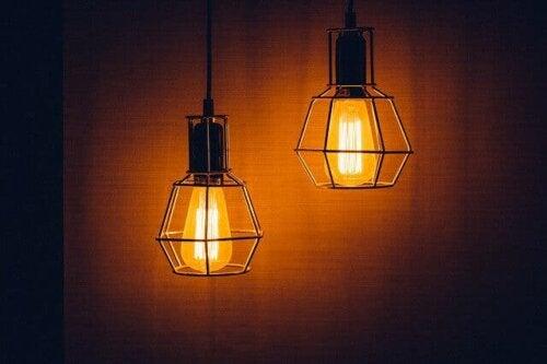 Kjøp lyspærer med lavt forbruk