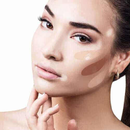 Korrigerende sminke innen dermatologi