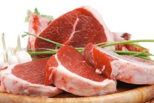 For mye kjøtt forårsaker forstoppelse.