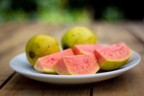 Frukten guava.