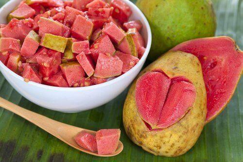 Guava er bra for huden.