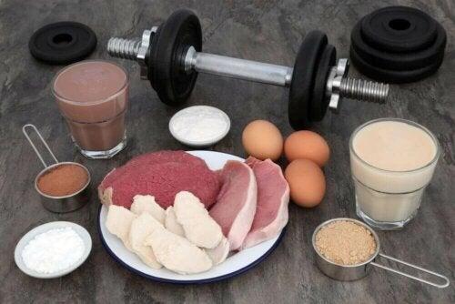Mat for større muskler.