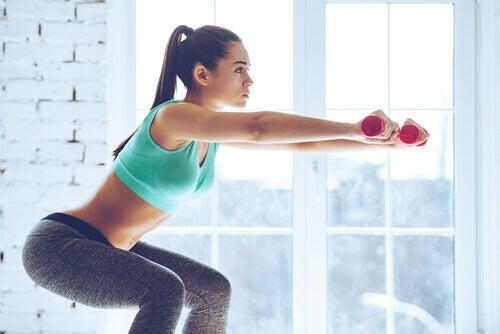 utmerkede øvelser for å tone bena og setemusklene