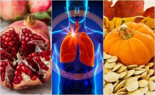 6 matvarer som hjelper deg med å styrke lungefunksjonen