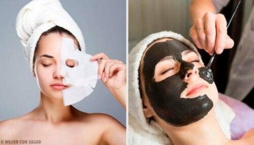 6 peel-off-masker av gelatin for å revitalisere huden din