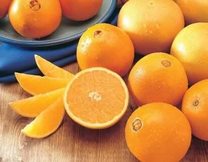 Appelsiner er rike på A-vitamin