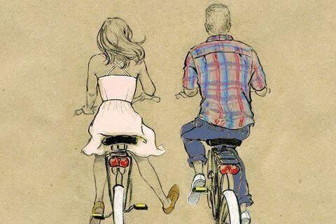 Ideer til å dekorere i vintagestil: En sykkel