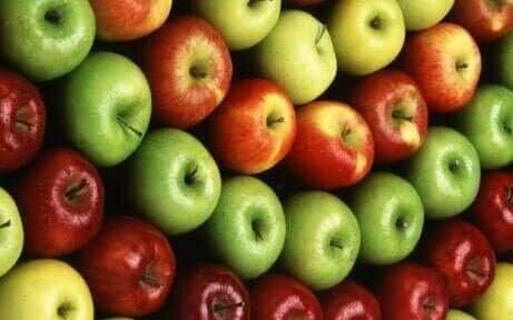 Epler er frukt som anbefales for de som bestemmer seg for å slutte å røyke og kan styrke lungefunksjonen