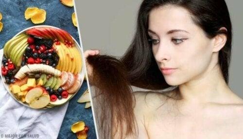 Visste du at disse 12 matvarene gjør håret ditt vakrere?