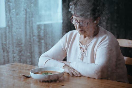Hyporeksi eller mangel på appetitt