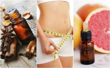 6 eteriske oljer som kan hjelpe deg ned i vekt