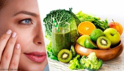 Frukt for å bekjempe sprukken, tørr hud
