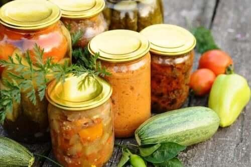 Hermetiserte grønnsaker