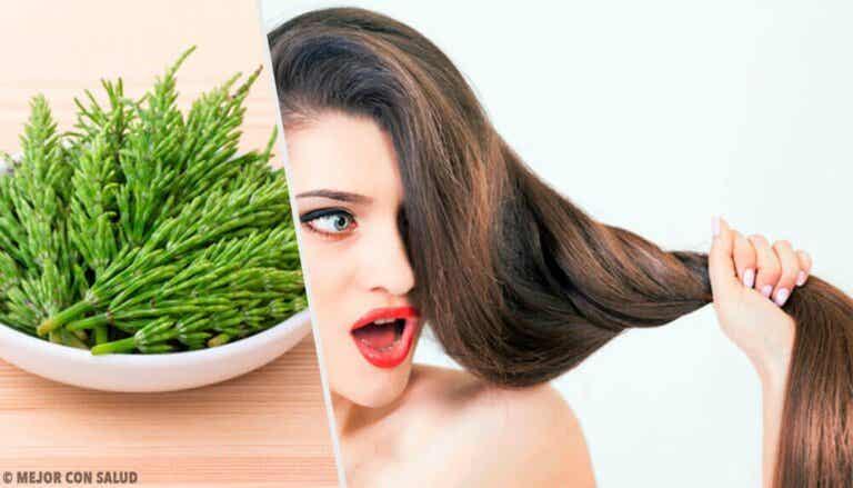 Kjerringrokk for å fremme hårveksten