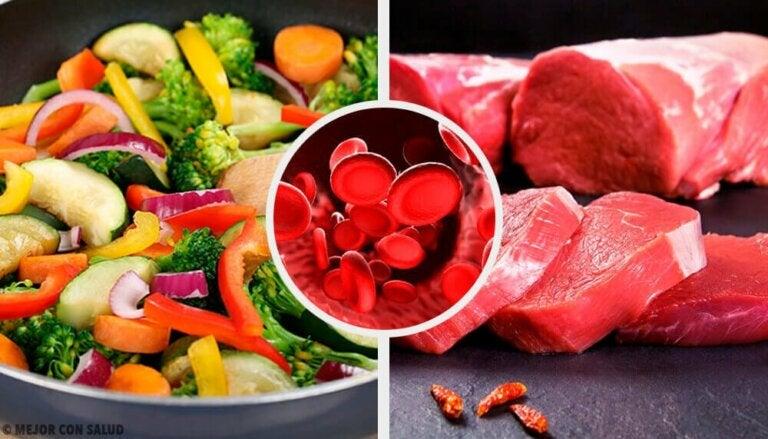 Matvarer du bør spise for å ha normale hemoglobinnivåer