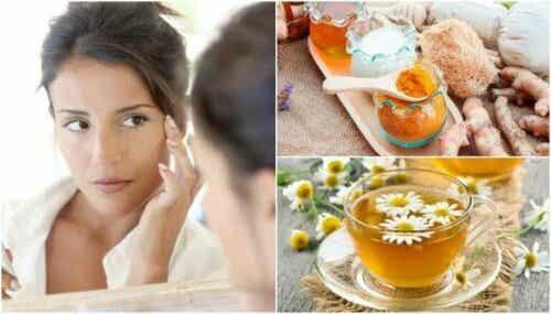 5 kosmetiske behandlinger for å naturlig redusere poser under øynene