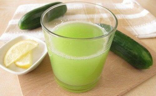 Ren agurkjuice.