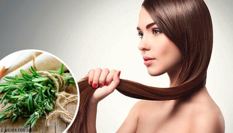 Urter og krydder for bedre hårvekst