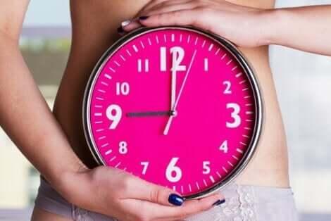En kvinnes biologiske klokke.