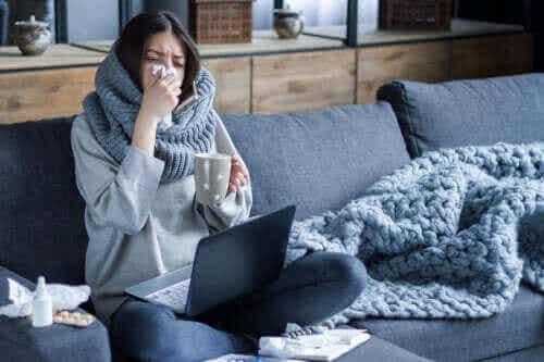 Hvorfor sprer influensa seg mer om vinteren?