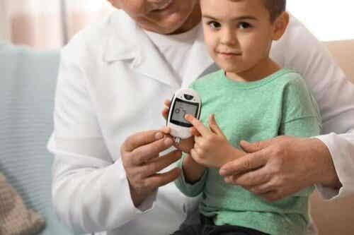 Hva er normalt glukosenivå hos barn?