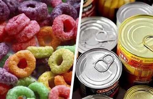 Behandlede matvarer