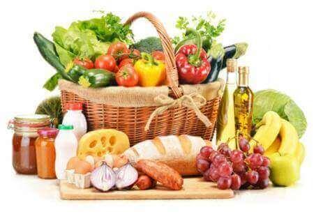 Et bredt utvalg av matvarer - inflammatorisk tarmsykdom