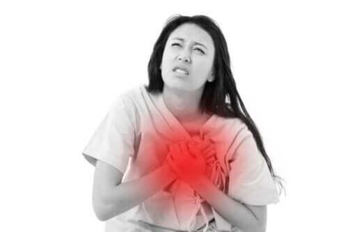 For mye bruk av kaffe kan gi hjerteproblemer.