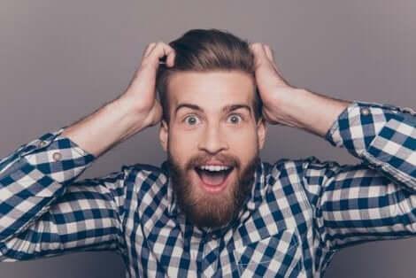 Mann med skjegg