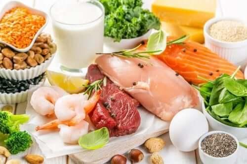 Matvarer rike på vitamin B