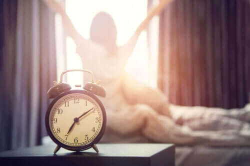 Våkne om morgenen