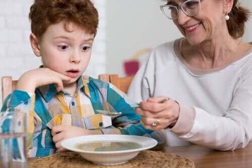 Spiseforstyrrelser hos autistiske barn