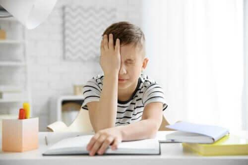Barn med migrene