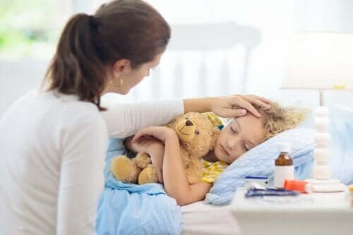 Et sykt barn