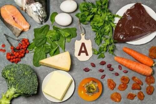Kilder til vitamin A