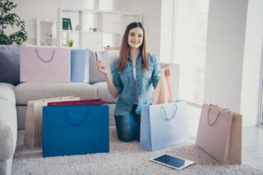 4 tegn på at du er avhengig av shopping