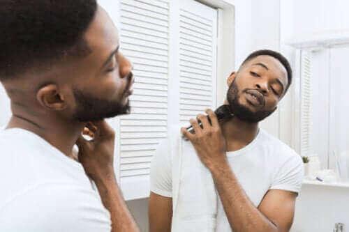 Feil under barbering og påfølgende hudpleie