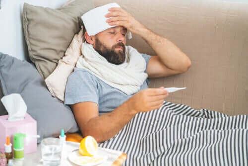 Forholdet mellom kroppstemperaturen og feber