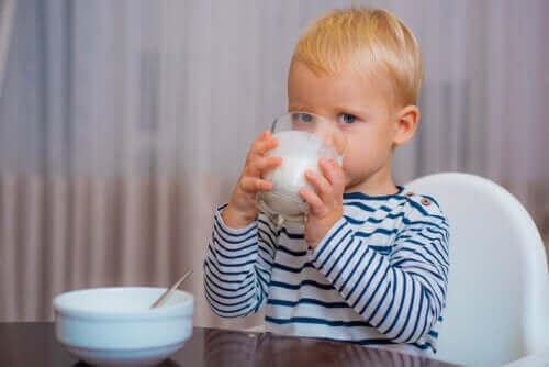 Riktig melk for babyer etter deres første leveår