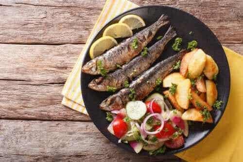 De 3 viktigste fordelene med sardiner