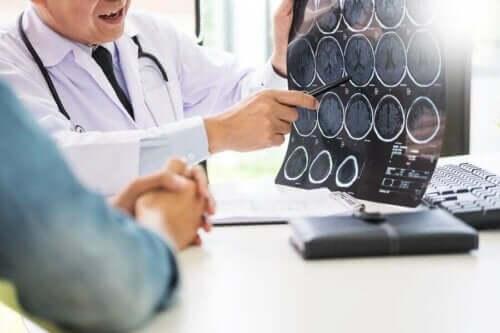 Scan av hjernen - mangel på vitamin A