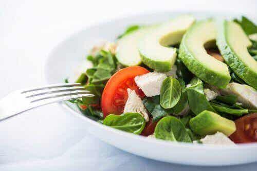 Prøv sunne ukentlige menyer for vekttap