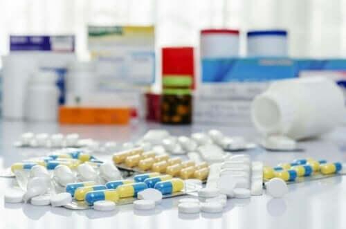 Ulike typer antibiotika
