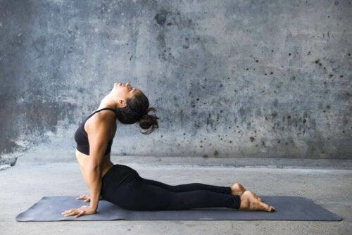 Yogaposisjon.